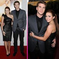 Miley Cyrus y Liam Hemsworth desfilan juntos en el estreno de su última película