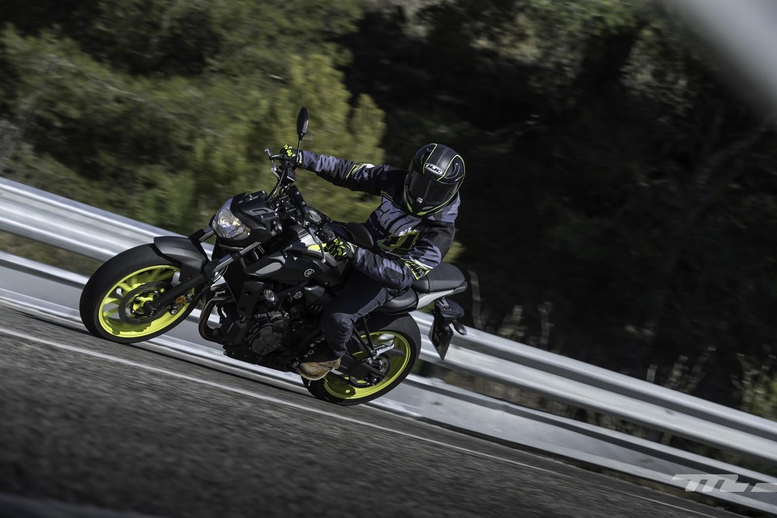 Foto de Yamaha MT-07 2018, prueba (8/56)