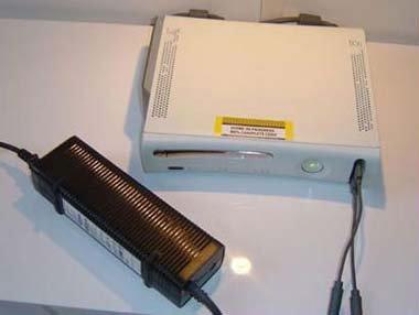 Fuente de alimentación descomunal de la XBox 360