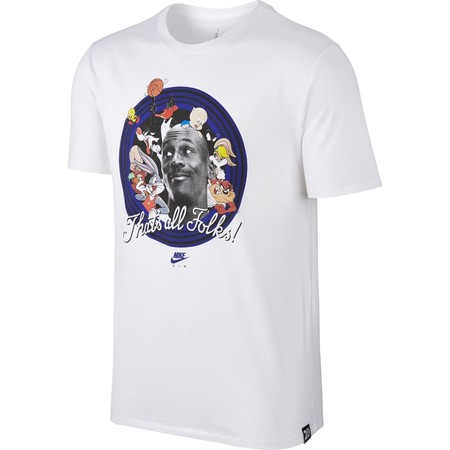 T Shirt Men S Air Jordan That S All Folks T Shirt White Concord 824358 100
