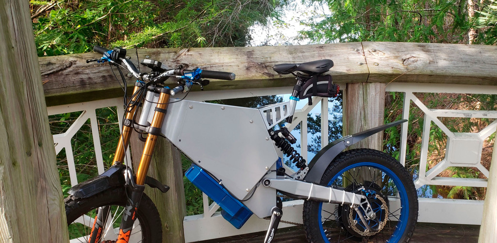 La historia de la bicicleta eléctrica DIY que casi termina siendo moto al acaecer de los 110 km/h (según su creador)