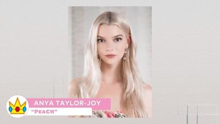 Nueva Pelicula Mario Personajes Voz Anya Taylor Joy Princesa Peach