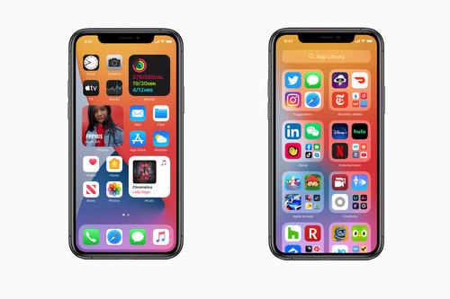 iOS 14 trae grandes novedades: rediseño de la home con widgets, iconos vivos y librería de apps