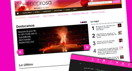 Nuevo diseño en Poprosa