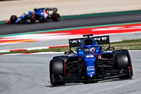 Alpine tiene un serio problema de escapes: Fernando Alonso ya ha usado la mitad de los que tiene para todo el 2021