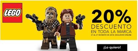 20% de descuento en Playmobil y Lego hasta el 27 de mayo en Toys `r us. Exclusivo online