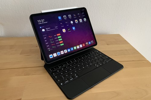 iPad Pro y Magic Keyboard: así se compara su peso y pantalla con otros iPad y Mac