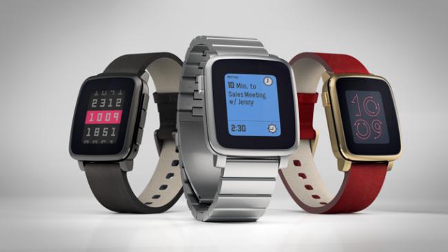 Pebble reviste de acero su Pebble Time y le añade correas inteligentes