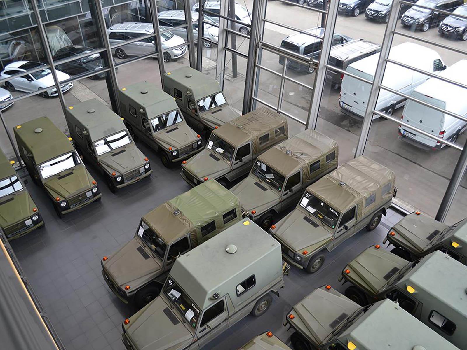 Foto de Mercedes Clase G ejército suizo en Lorinser (7/12)