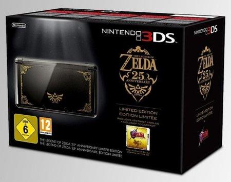 Nintendo 3DS Zelda 25 aniversario