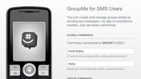 GroupMe web