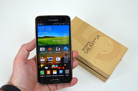 Galaxy S5 prueba en mano