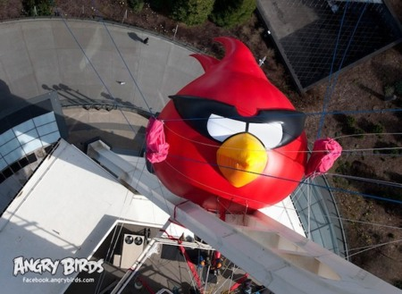 angry birds space rojo gigante