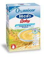 Echamos un vistazo al etiquetado de los productos hero baby de 4 meses ii - Cereales bebe 5 meses ...