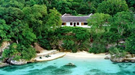 Goldeneye Resort Fleming Villa vista aérea