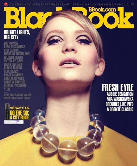 La espectacular portada de Mia Washikowska a lo Eddie Sedgwick