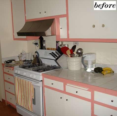 Antes y despu s modernizando una cocina - Pintar azulejos cocina antes y despues ...