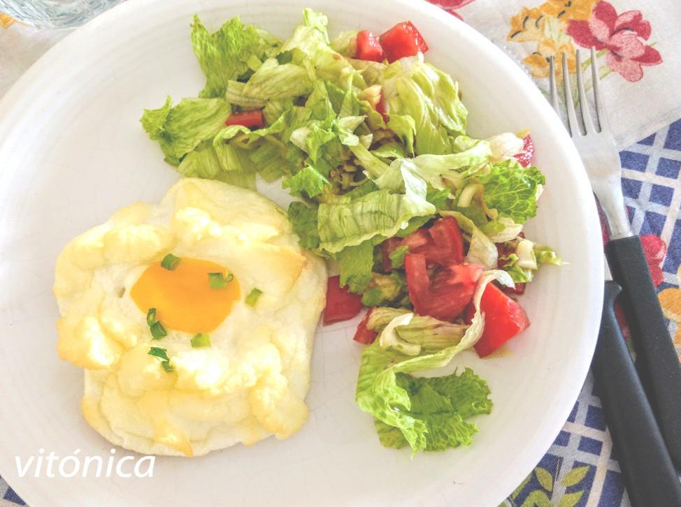 Huevos nube o cloud eggs: receta saludable ideal para dieta keto