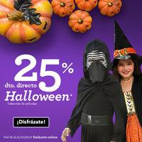 25% de descuento en disfraces de Halloween y accesorios en Toys Rus