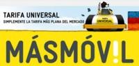 MÁSMÓVIL presenta la Tarifa Universal: 300 minutos y 300 MB por 9.95 euros hasta verano