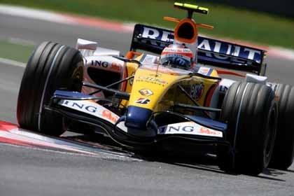 El Renault R27 sería más rápido con Alonso al volante