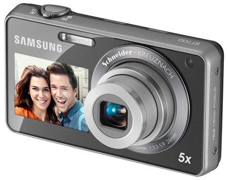 Las nuevas Samsung de doble pantalla. Samsung ST700, PL170 y PL120