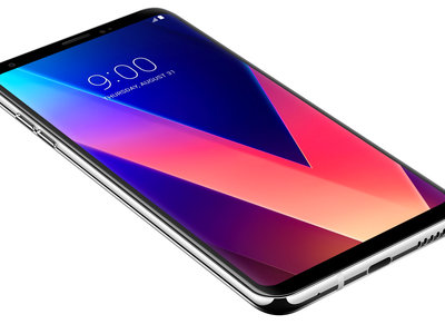 Así es la pantalla del LG V30: apuesta total por la tecnología OLED