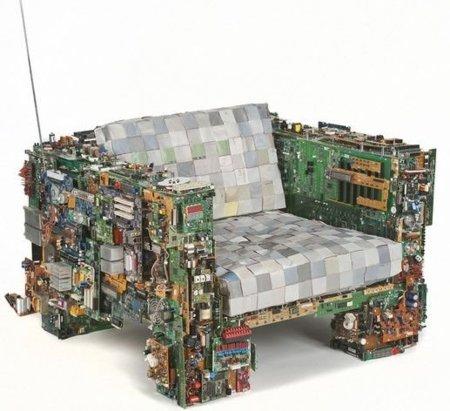 Una silla para informáticos amantes del hardware