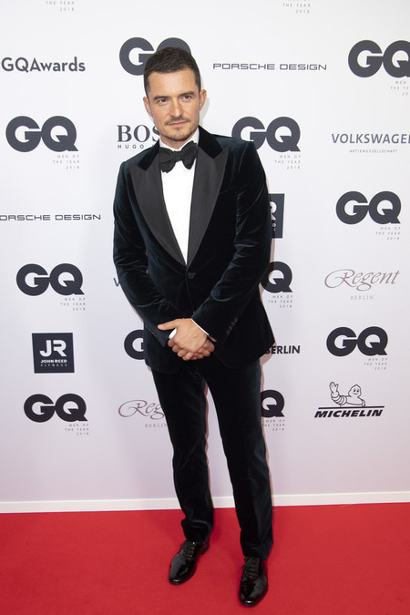 Orlando Bloom Red Carpet Arrivals Gq Men Of The Year Award 2018