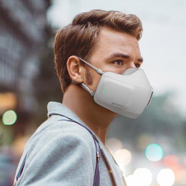 LG anuncia una mascarilla purificadora electrónica con la que quiere sustituir las mascarillas caseras y las desechables