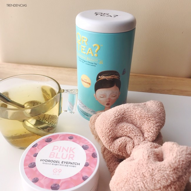 Nos relajamos una tarde de domingo con los productos coreanos de The beautea kit de Miin-Cosmetics