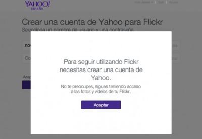 Flickr elimina la posibilidad de usar Google o Facebook para identificarse