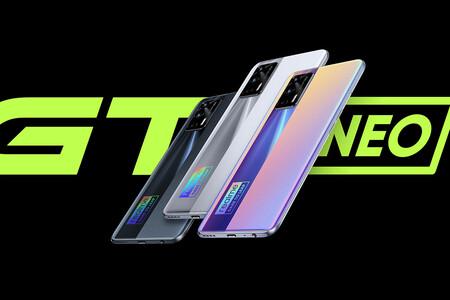 Realme GT Neo: el primer gama alta con MediaTek Dimensity 1200, con pantalla AMOLED a 120 Hz y precio ajustado