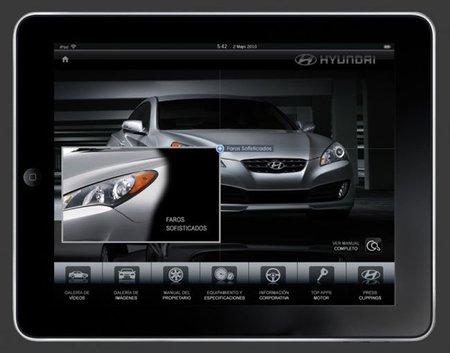 El Hyundai Génesis Coupé, primero con iPad de serie