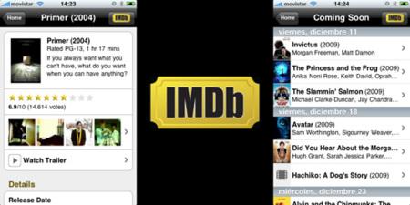 IMDb aterriza al fin en el iPhone