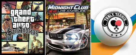 GTA San Andreas, Midnight Club LA y Table Tennis serán los próximos retrocompatibles de Xbox