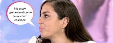 """Anabel Pantoja llorar en 'Sálvame' al someter a examen su relación con Omar Sánchez: """"Somos un equipo"""""""