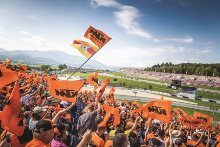 Ktm Fan Tribune Motogp 2019 1