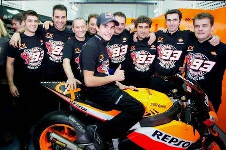 Marc Márquez se perderá los entrenamientos de Moto2 que arrancan mañana