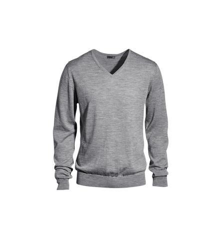 jersey cuello de pico h&m