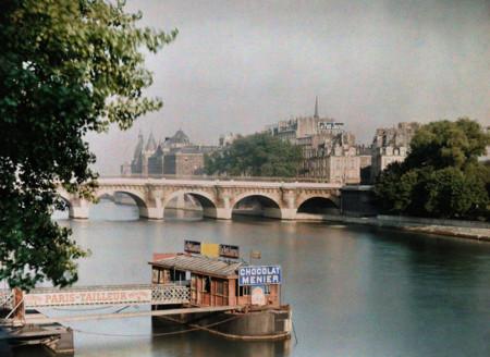 París, 1923: fotos a todo color de la ciudad de las luces durante los felices años veinte