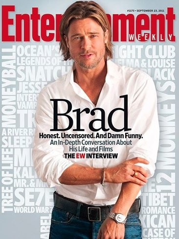 Los hay guapos y luego está Brad Pitt en EW