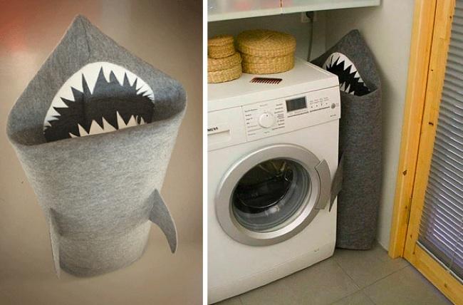 Esconde tu ropa sucia en un tibur n - Cestos para ropa sucia ...