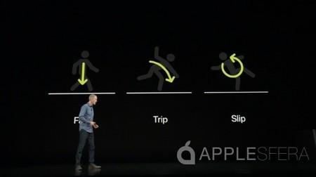 caídas Apple Watch