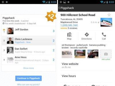 Latitude Leaderboard, o cómo Latitude es más que nunca el Foursquare de Google