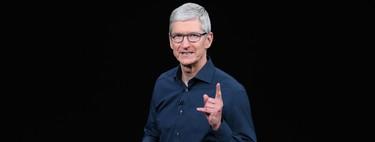 """Apple ha comprado """"de veinte a 25"""" empresas en los últimos seis meses, reafirma Tim Cook"""
