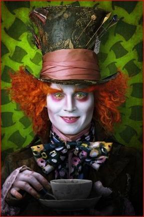 Primeras imágenes de Johnny Depp en 'Alicia en el país de las maravillas'
