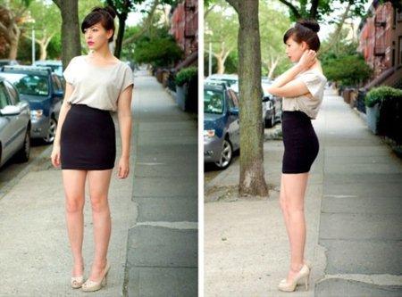 Los mejores looks de calle Primavera-Verano 2010 para ir al trabajo con clase y no pasar calor VII