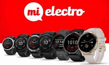 Ofertas en relojes y ciclocomputadores Garmin en MiElectro: precios superrebajados para tener bajo control tu actividad física