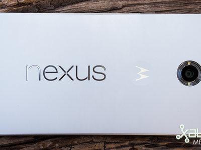 Nexus 6 finalmente recibe Nougat con el parche de seguridad de octubre